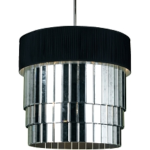 Garbo Six Light Pendant in Black - 6740-6H