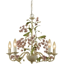 Grace Five Light Chandelier - 7045-5H