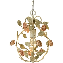 Ramblin' Rose Mini Chandelier - 7051-1H