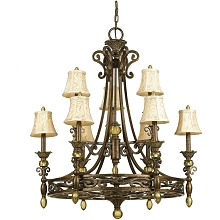 Baltic Nine-Light Chandelier - 7510-9H