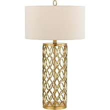 Cosmo Table Lamp- Satin Brass - 8101-TL
