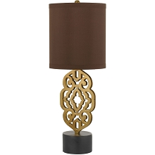 Grill Table Lamp- Satin Brass - 8104-TL