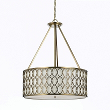 Large 8218 Pendant- Satin Brass