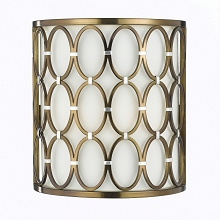 Cosmo Wall Sconce- Satin Brass - 8220-2W