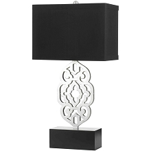 Grill Table Lamp- Silver Leaf - 8227-TL