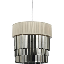 8231 Six Light Pendant- Ivory