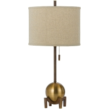 Gravity Table Lamp- Satin Brass - 8251-TL