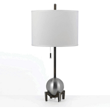 Gravity Table Lamp- Satin Nickel - 8252-TL