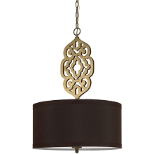 Grill Pendant in Brass - 8422-4H
