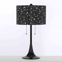 Drizzle Spun Metal Table Lamp - 8438-TL