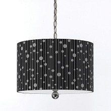 Drizzle Pendant in Black - 8442-3H