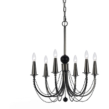 Shelby 6-Light Chandelier - 8448-6H