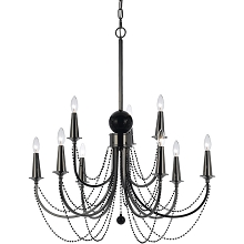 Shelby 9-Light Chandelier - 8449-9H
