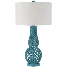 Chain Link Table Lamp - Brilliant Blue - 8485-TL