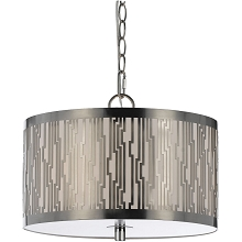 8490 Pendant- Satin Nickel