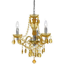 Fulton Mini Chandelier in Gold - 8501-3H