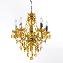 Fulton Five Light Chandelier in Gold - 8523-5H