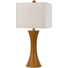 Madison Ceramic Table Lamp- Orange - 8558-TL