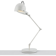 Cooper 4-Way Adjustable Desk Lamp- White - 8591-TL
