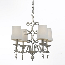Rhythm Mini Chandelier in Foil - 8602-4H