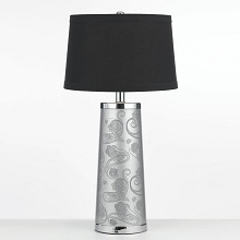 Henna Paisley Table Lamp - 8622-TL