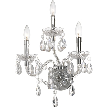 AF Lighting Naples 3-Light Wall Sconce - 8860-3W