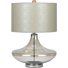 8901 Glass Table Lamp - Champange