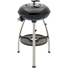 Cadac Carri Chef 2 Portable Grill with Pot Ring, BBQ Grill Plate, Split Grill/Griddle Plate and RV Mounting Bracket - 8910-50/8910-109-US