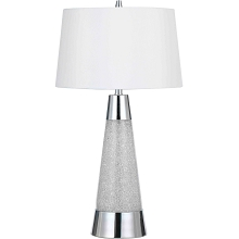 9010 Table Lamp - Chrome