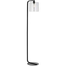AF Lighting Lowell Floor Lamp with Clear Glass Globe - 9117-FL