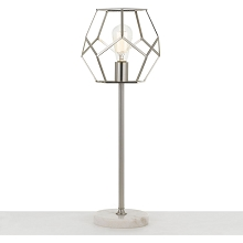 AF Lighting Bellini Table Lamp in Brushed Nickel - 9136-TL
