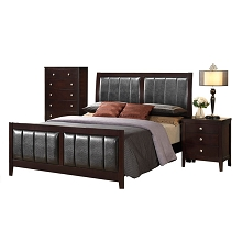 Walden 3 Piece Bedroom Suite: King Bed, Chest, Nightstand - 98105A3K1-DE