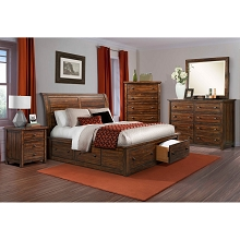 Cambridge Aspen Creek Storage 5-Piece Queen-Sized Bedroom Suite - 98123A5Q1-RC