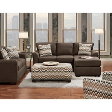 Cambridge Soho 4-Piece Set: Sofa, Loveseat, Accent Chair and Cocktail Ottoman - 98511A4PC-MO
