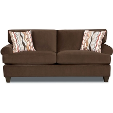 Cambridge Easton Sofa in Chocolate - 98523SF-CO