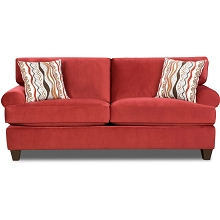 Cambridge Easton Sofa in Red - 98523SF-RED