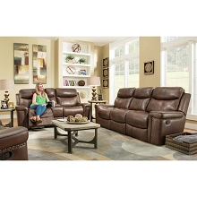 Cambridge Aspen 2-Piece Living Room Set: Sofa and Loveseat - 98526A2PC-CO