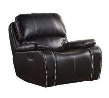 Cambridge Alpine Rocker Recliner in Black - 98530GR-BK