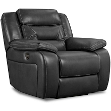 Cambridge Alpine Power Recliner in Black - 98530PR-BK