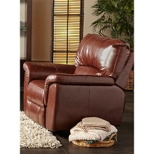 Cambridge Charleston Power Leather Recliner - 98535PR-BR