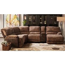 Cambridge Saros 6-Piece Sectional Sofa - 98539SEC-BR