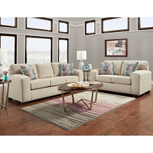 Cambridge Chamberlain Two-Piece Living Room Set: Sofa and Loveseat - 98540A2PC-TN