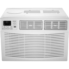 Amana 18,000 BTU 230V Window-Mounted Air Conditioner with Remote Control, AMAP182BW