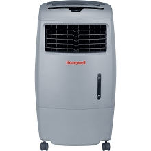 Honeywell 500 CFM Indoor/Outdoor Evaporative Air Cooler with Remote in Gray - CO25AE