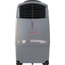 Honeywell 525 CFM Indoor/Outdoor Evaporative Air Cooler with Remote in Gray - CO30XE