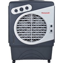 Honeywell 1540 CFM Indoor/Outdoor Evaporative Air Cooler in Gray/White - CO60PM
