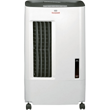 Honeywell 176 CFM Indoor Evaporative Air Cooler in White/Gray - CSO71AE
