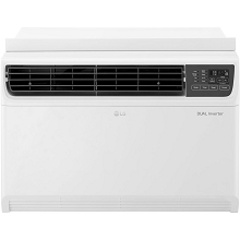 LG 14,000 BTU 115V Dual Inverter Window Air Conditioner with Wi-Fi Control, LW1517IVSM
