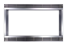 Sharp 27 In. Built-In Trim Kit for Sharp Microwave R551ZS - Stainless Steel - RK48S27
