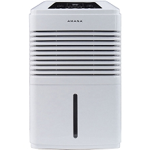 Amana High Efficiency 50 Pint Dehumidifier, AMAD501AW